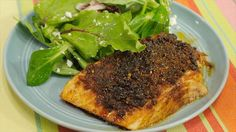 Get Brown Sugar Spiced Salmon Recipe from Food Network