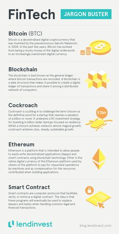 FinTech jargon buster: the innovation shaping the future of finance: Bitcoin Blockchain Cockroach Ethereum Smart Contract 700 digital coins in the world. None oriented towards actually being used as currency. That all changes now! Save money with Bitcoin Mining Rigs, What Is Bitcoin Mining, Investing In Cryptocurrency, Bitcoin Cryptocurrency, Cryptocurrency Trading, Innovation, Trade Finance, Finance Business, Finance Blog