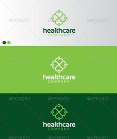 Healthcare Logo Design Template Vector #logotype Download it here: http://graphicriver.net/item/healthcare/591315?s_rank=1043?ref=nexion