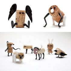 Corkers - need to figure out how to DIY these. So cute.