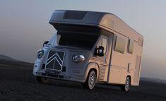 シトロンの現行デリバン JUMPERにType Hの外装をまとわせるというアイデア。これなら乗りたい! Citroen Concept, Citroen Type H, Bike Storage In Van, Luxury Van, Airstream Trailers, Retro Cars, Hot Cars, Cars And Motorcycles, Autos