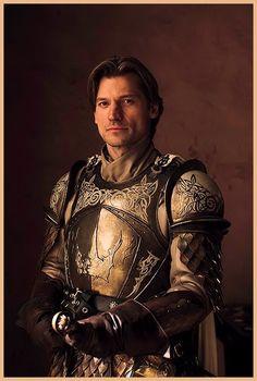 Nikolaj Coster Waldau as Jaime Lannister Jaime Lannister, Cersei Lannister, I Love Series, Hbo Series, Carolina Vera, Game Of Trone, Eddard Stark, Nikolaj Coster Waldau, Knight In Shining Armor