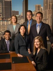 Corporate Group Portrait in Manhattan