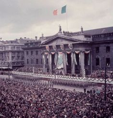The Commemoration of the Easter Rising In Dublin 1966.