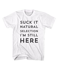 6e1ad02a35 White Natural Selection Tee - Men by american classics