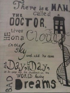 doctor who the man who lives on a cloud by allonsylauren