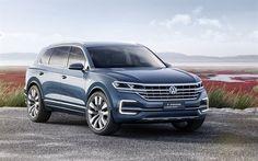 Lataa kuva Volkswagen T-Prime, 2017, GTE, Crossover, MAASTOAUTO, Saksan autoja, Volkswagen