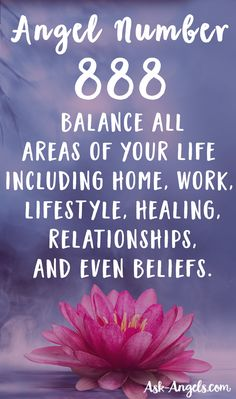 Angel Number 888- Balance All Areas of Your Life!