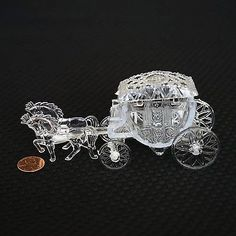 Unbranded Royal Vintage Cinderella Horse and Carriage Coach Cake Topper Clear Cinderella Coach, Cinderella Theme, Cinderella Birthday, Cinderella Wedding, Cinderella Carriage, Cinderella Centerpiece, Cinderella Sweet 16, Cinderella Cupcakes, Wedding Centerpieces