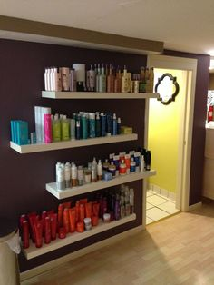 retail display for hair salon - Google Search