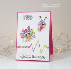 Awesome design by Caryn for the Simon Says Stamp Wednesday challenge (All Creatures Great and Small)