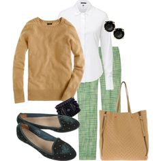 """OFFICE MONDAY 12.WK36"" by styletheluxe on Polyvore"