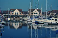 """8/3/12 - I had to pop to Port Solent today and I wandered around having a look at the boats too, I was amazed with how still the water was, the reflections were awesome."" Rob Driscol"