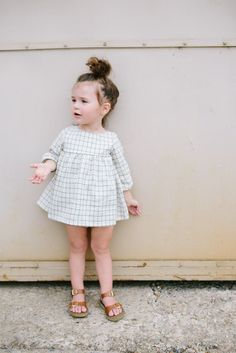 This dress is the sweetest. The classic silhouette is an instant staple and makes this dress perfect for so many occasions! Dress it up with some knee socks and a bonnet for a vintage look or pair wit