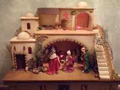Discover recipes, home ideas, style inspiration and other ideas to try. Christmas Nativity Scene, Christmas Minis, Christmas Pictures, Christmas Time, Christmas Crafts, Christmas Decorations, Christmas Ornaments, Snowman Wreath, Miniature Crafts