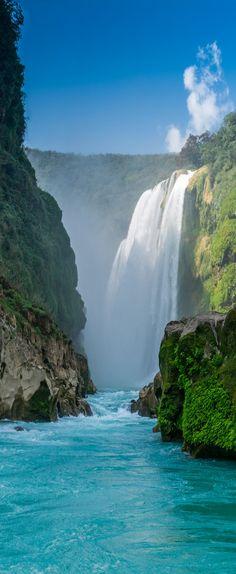 Tamul falls, San Luis Potosi, Mexico