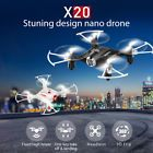 """﹩30.99. 2017 Syma X20  RC Quadcopter Altitude Hold Mini  Drone 6 Axis Gyro Headless   Type - Fun-Scale, Fuel Type - Electric, Number of Channels - 4, Required Assembly - Ready to Go/RTR/RTF (All included), Material - Plastic, Product Size - 7.5*7.5*2.5cm/3""""*3""""*1"""", Charging Time - About 60 minutes, Flight Time - About 8 minutes, Flight Distance - About 100 meters, Age - Above 8 years old, Battery - 3.7V/180mAh, Transmitter Battery - 4*AAA Alkaline Battery(not included"""