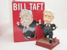 2014 President Bill Taft Racing Presidents Washington Nationals SGA Bobblehead…