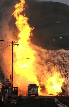 Idaho Natural Gas Explosion - My Firefighter Nation Wildland Firefighter, Volunteer Firefighter, Fire Bible, Wicca, Oil Jobs, Firefighter Pictures, Colors Of Fire, Fire Apparatus, Fire Trucks