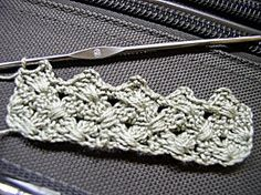 how do i do this?! love this stitch. can't read crochet patterns! here goes google.