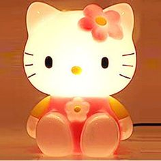 Chalckittomecoolcreativeceramicpiggybank New Home N - Hello kitty lamps for bedroom