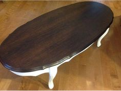 Painted Modern Victorian Coffee Table | Refurbished Queen Anne Style Coffee  U0026 End Table Sooke, Victoria | Salon | Pinterest | Modern Victorian, Queen  Anne ...