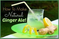 How To Make Ginger Ale - Sweetened Naturally – Learn how to make ginger ale without all the chemical additives, preservatives, and sweeteners. This delicious recipe is easy, natural, and delicious!