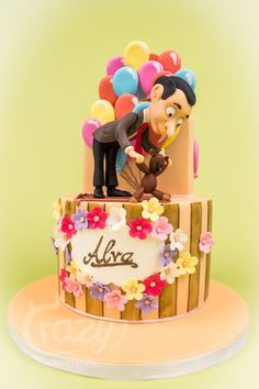 Mr Bean Birthday Cake