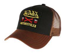Casquette Von Dutch marron Motorcycles Square Square, Bones, Cap, Motorcycles, Fashion, Shopping, Needlepoint, Conkers, Moda