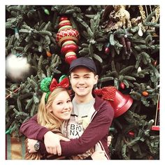 ac1233: Disney day!!!❤️✨  Damian McGinty Anna Claire Sneed