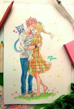 Fairy Tail x Reader Fairy Tail Kids, Fairy Tail Family, Fairy Tail Natsu And Lucy, Fairy Tail Art, Fairy Tail Guild, Fairy Tail Couples, Fairy Tail Anime, Fairy Tales, Nalu