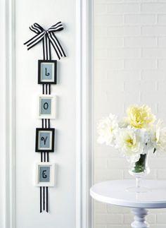 DIYMini Frame Ribbon Collage
