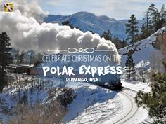 The city was founded in 1880 as a company town of legendary Rio Grande Railway. Its landscape is dominated by the red sandstone and beautiful Animas River Valley. In summer visitors come here to complete the Animas River Trail. But in winter they come to experience the magical Polar Express!   #Durango #PolarExpress #USA #Christmas #winter #vacation #getaway #holiday #wanderlust #paradise #trip #tourist #travel #travelideas