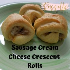 In this video, we will show you how to make sausage cream cheese crescent rolls. Sausage Crescent Rolls are great for parties. Sausage Crescent Rolls, Cream Cheese Crescent Rolls, Thanksgiving Recipes, Fall Recipes, Holiday Recipes, Yummy Recipes, Appetizer Recipes, Dessert Recipes, Appetizers
