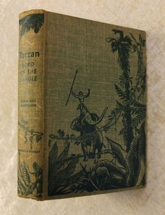 Tarzan Lord Of The Jungle Edgar Rice Burroughs Vintage 1928 Hardcover in Books, Antiquarian & Collectible | eBay