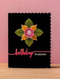 PTI Lovely Layers + Swoosh Birthday card - Random Reflections Blog