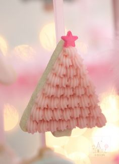 Pastel Christmas Cookie Ornaments Recipe