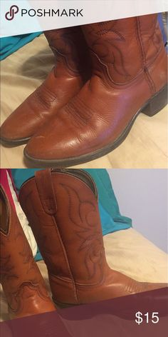 Dan Post kids boots Light scuffs. Child size one. Dan Post Shoes Boots