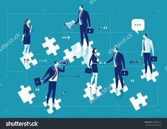 Business Solution. Business concept illustration