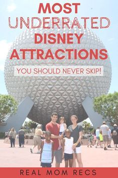 Planning a vacation to Walt Disney World? Do NOT miss these 5 rides and attractions! They might not be the most popular but they are great family fun. #wdw #disney