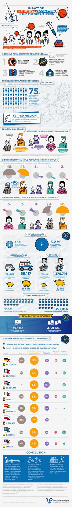 The impact of Influenza vaccination in the EU