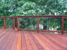 Deck rails Outdoor Spaces, Outdoor Living, Patio Ideas, Outdoor Ideas, Outdoor Decor, Front Steps, Deck Railings, Decks And Porches, Sunroom