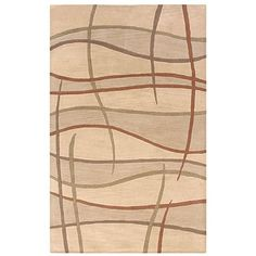 Rizzy Home Hand-tufted Hesiod Beige Rug
