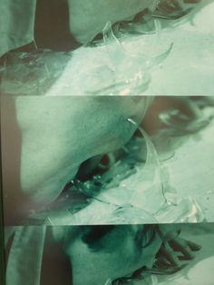 "endthymes: "" gina pane, 'partition pour 1 feuille de menthe II' (1985) """