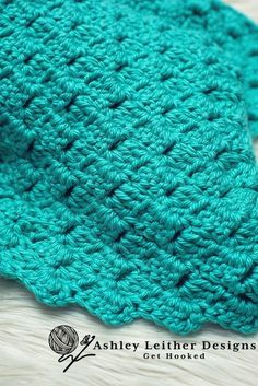 Heidi Blanket Crochet Pattern - Ashley Leither Designs