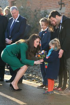 Kate Middleton Photos Photos - The Duchess of Cambridge during an official visit to receive an update on The Nook Appeal at EACH on January 24, 2017 in Quidenham, Norfolk.  HRH is Royal Patron of EACH (East Anglia's Children's Hospices) and launched The Nook Appeal in 2014. - The Duchess of Cambridge Visits East Anglia's Children's Hospice At Quidenham