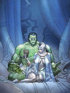 Caiera and Hulk