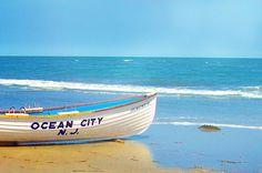 ocean City New Jersey lifegaurd boat