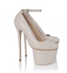 Olcay Gulsen Ankle 7-Inch Strap Pump #Obsession #HighHeels #Shoes