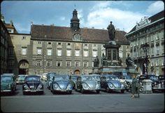 Dave Murray, Vw Beetles, Urban Landscape, Vienna, Austria, Vintage Photos, Palace, Restoration, Landscapes